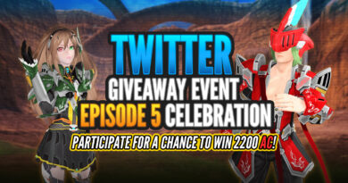 PSO2 GIVEWAT TWITTER